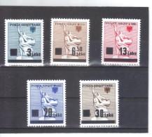 OST1302 ALBANIEN 1993  MICHL 2523/27 Postfrisch SIEHE ABBILDUNG
