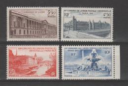 FRANCE / 1947 / Y&T N° 780/783 ** : 12ème Congrès UPU (4 TP) - Gomme D´origine Intacte