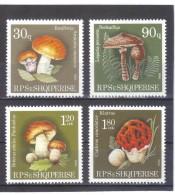 ALB342 ALBANIEN 1990  MICHL  2431/34  ** Postfrisch SIEHE ABBILDUNG