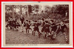 SCOUTISME  - Louveteaux E. D. F. Caen  -  Jeu De La Corde - Scoutisme
