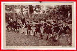 SCOUTISME  - Louveteaux E. D. F. Caen  -  Jeu De La Corde - Scouting