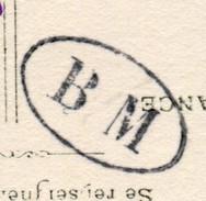 MARQUE POSTALE BM BOITE MOBILE - CAD SISTERON - Postmark Collection (Covers)