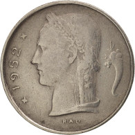 Belgique, Franc, 1952, TTB, Copper-nickel, KM:142.1 - 04. 1 Franco