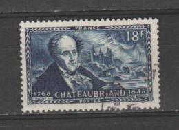 FRANCE / 1948 / Y&T N° 816 : CHATEAUBRIAND - Choisi - Cachet Rond
