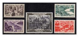 1949 - 1950 - Francia - Sc. C 23 - C 27 - MNH - FR-095