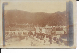 La Roche En Ardenne - Photo Carte - Circulé: 1914.
