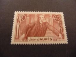 TIMBRE DE FRANCE   1936    N 318  COTE  6,50  EUROS  NEUF  LUXE**