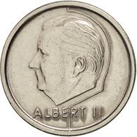 Belgique, Albert II, Franc, 1994, Brussels, SUP, Nickel Plated Iron, KM:187 - 1993-...: Albert II