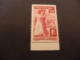 TIMBRE DE FRANCE   1938    N 401  COTE  9,50  EUROS  NEUF  LUXE**
