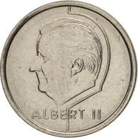 Belgique, Albert II, Franc, 1998, Brussels, TTB+, Nickel Plated Iron, KM:187 - 02. 1 Franc