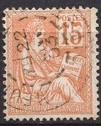 FRANCE 1900 / 1902 -  Y.T. N° 117 - OBLITERE - FD50