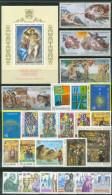 VATICANO - VATICAN - 1994 - Annata Completa - 28 Valori + 1 BF - Complete Year - ** MNH/VF - Años Completos
