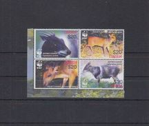 LIBERIA 2005  WWF Antilopes  4v.  Perf.