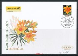 GERMANY Mi. Nr. 2534 Freimarke - Blumen - FDC - [7] República Federal