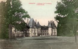 CPA     -    ORBAIS   -   CHATEAU DE COUPIGNY   -   COTE NORD - France