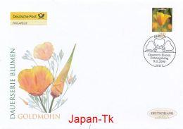 GERMANY Mi. Nr. 2568  Freimarke - Blumen - FDC - [7] República Federal