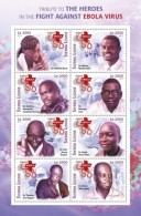 SIERRA LEONE 2015 ** Ebola Virus M/S I - OFFICIAL ISSUE - A1641