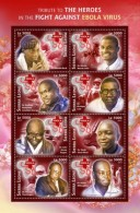 SIERRA LEONE 2015 ** Ebola Virus M/S II - OFFICIAL ISSUE - A1641