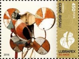 GUINEA-BISSAU 2016 ** LUBRAPEX 2016 Stamp Exhibition Briefmarkenausstellung 1v - IMPERFORATED - A1641