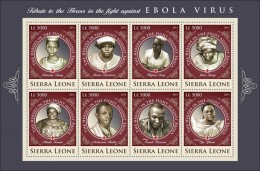 SIERRA LEONE 2015 ** Ebola Virus M/S IV - IMPERFORATED - A1641