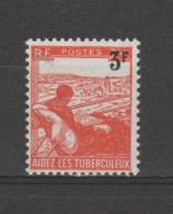 FRANCE / 1946 / Y&T N° 750 ** : Tuberculeux 3F - Gomme D´origine Intacte