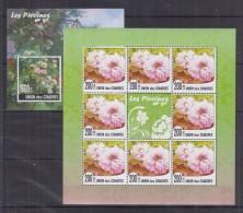 W12 Comoros - MNH - Plants - Flowers - 2010
