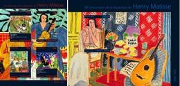 Togo 2014, Art, Henry Matisse, 4val In BF +BF