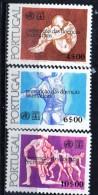 PIA - PORTOGALLO  - 1977 : Anno Mondiale Del Reumatismo  - (Yv 1337-39)