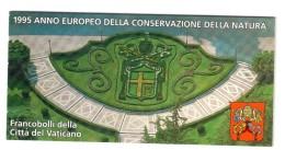 Vaticano Vatican 1995 Libretto Anno Della Natura  Al Facciale COD.FRA.913 - Vatican