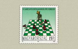 HUNGARY 1992 SPORT European Chess Cup DEBRECEN - Fine Set MNH