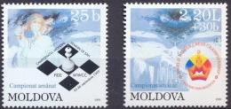 MOLDOVA 1999 SPORT Women´s World Cup Of CHESS - Fine Set MNH