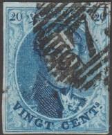 Belgique 1858 COB 11A Oblitération P 73 Liège