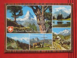 "Zermatt  (VS) U.a. - Mehrbildkarte ""Schweiz - Suisse - Switzerland"" - VS Valais"