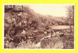 * Houffalize (Luxembourg - La Wallonie) * (Nels, Série 11, Nr 16) Roche Plate, Canal, Pont, Quai, Rochers, Rare