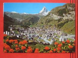 Zermatt (VS) - Panorama Gegen Matterhorn - VS Valais
