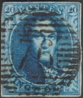 Belgique 1858 COB 11A Oblitération P 76 Louvain