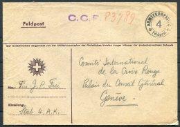 Switzerland Fieldpost Feldpost Cover / Armeekorpsstad 4 - Military Post