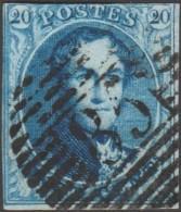 Belgique 1858 COB 11A Oblitération P 85 Namur