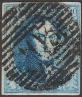 Belgique 1858 COB 11A Oblitération P 103 Saint Ghislain