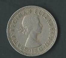 Grande-bretagne 1 Shilling 1955   Pia 20501 - I. 1 Shilling