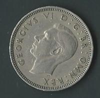 GREAT BRITAIN / GRANDE BRETAGNE 1 ONE SHILLING 1949 GEORGES VI  Pia 20507 - I. 1 Shilling