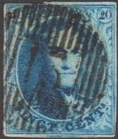 Belgique 1858 COB 11A Oblitération D 13 Dour