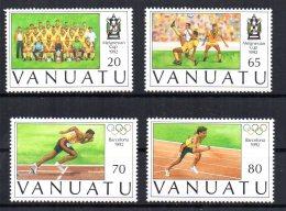 Vanuatu - 1992 - Melanesian Football Cup & Olympic Games - MNH - Vanuatu (1980-...)