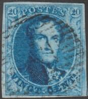 Belgique 1858 COB 11A Oblitération D 31 Looz ???