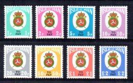 Isle Of Man - 1982 - Postage Dues - MNH
