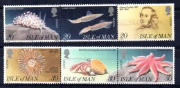 Isle Of Man - 1994 - Europa/Discoveries Of Edward Forbes - MNH