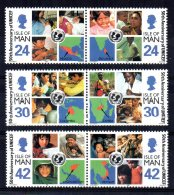 Isle Of Man - 1996 - 50th Anniversary Of UNICEF - MNH