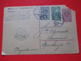 "Correspondence Card / Postcard -""Rudolf Kaudelka"" -Wien To Sarajevo -1920"