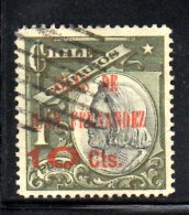 T1237 - CILE ,   Yvert N. 70  Usato