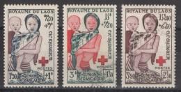 Laos - YT 25-27 Oblitérés